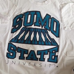Rare 2xl sumo state university volleyball tee 1994